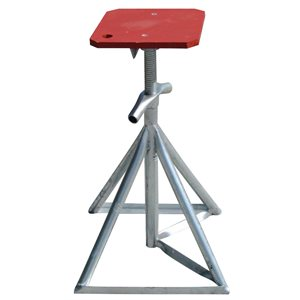 """boat stand 33-50"""" w / flat top 8000lbs capacity"""