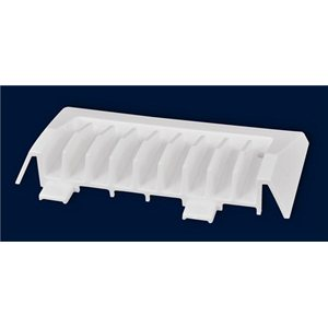 Modular Vent End Cap (white)