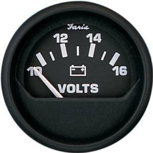 euro black voltmeter