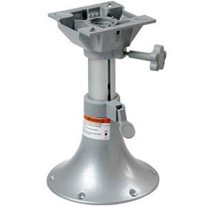 "Adjustable Pedestal w / swivel 13'' @ 17"" high"