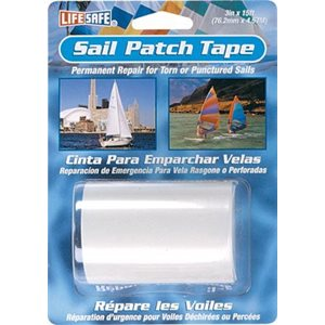 Sail and bimini patch tape - clear - 3 in x 15 ft