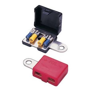 battery terminal,4 socket (sold in set 1 red / black)