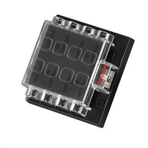 quick fuse block terminal 12 v- 8 gang