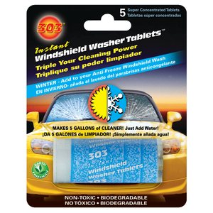 303® Instant Windshield Washer Tablets  /  5 pk