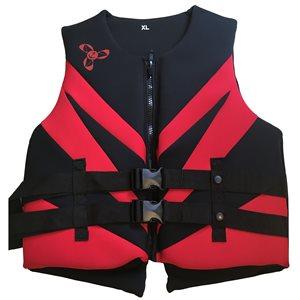 Veste de flottaison individuel en néoprène pour activités sportives et de plaisance, approuvé au Canada, MEDIUM