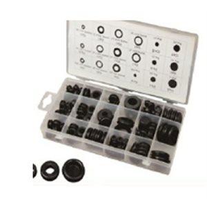 125pc Rubber Plug Grommet Assortment
