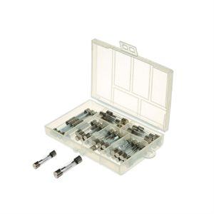 48PC Fast-Blow Glass Tube Auto Fuse Assortment Kit