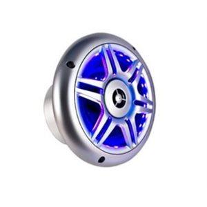 """haut-parleurs 6,5"""" avec éclairage del bleu"""