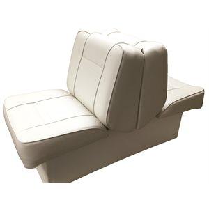 siège-lit de luxe  blanc / blanc