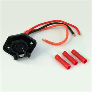 24v male trolling plug, mot side