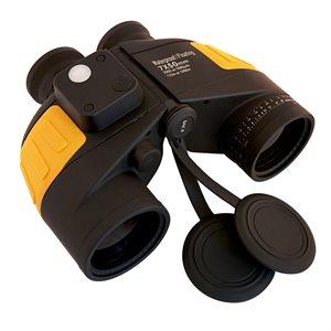 7x50 waterproof w / compass / rangefinder
