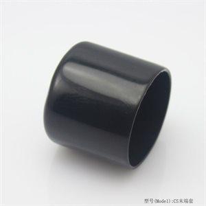 """black rubber foot cap 1"""""""