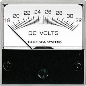 DC Micro Voltmeter - 18 to 32V DC