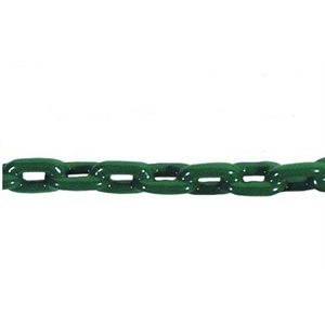 pvc coated anchor chain forest green 1 / 4""