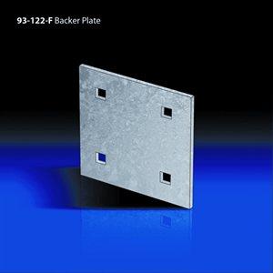 "backer plate 5¼"" x 5¼"" x 1 / 8"""