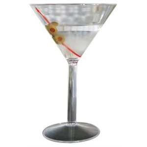 VERRE À MARTINI 284ml (10oz) EN POLYCARBONATE