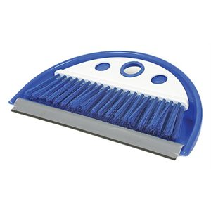 dust pan w / whisk