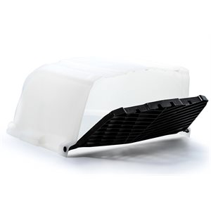 camco roof vent cover xlt, white,