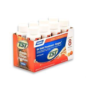 tst orange singles bilingual, 8-4oz bottles