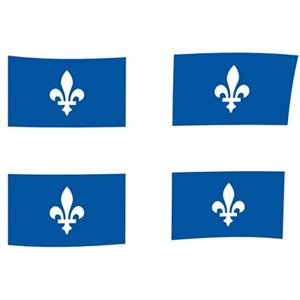 """drapeau qc 36 x 72"""""""