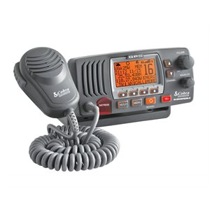 25 Watt Class-d fixed mount vhf radio, grey