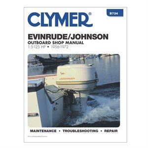 johnson  /  evinrude outboards 1956-72 repair manual