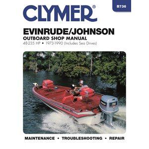 service manual evinrude / johnson 48-235 hp ob 73-90
