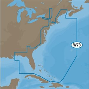 c-map sd côte est des États-Unis  /  bahamas