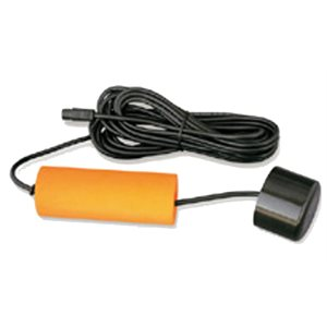 floating transducer for portable unit