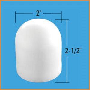 plastic leg cap  /  4 pk