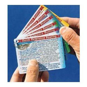 ensemble de 6 cartes 3'' x 4'' de références rapides de poche (seulement en anglais)