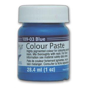 color paste- blue, 1oz