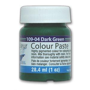 color paste- dark green, 1oz