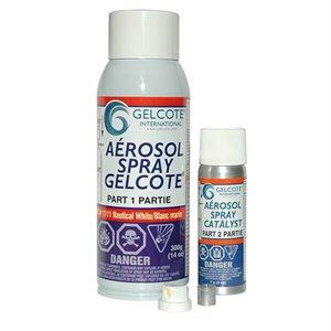 AEROSOL SPRAY GELCOTE WHITE 14OZ