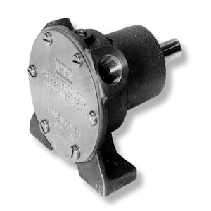 flexible impeller pedestal pump