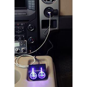 12V USB & LED SOCKET