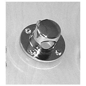 brass chromed rope deck pipe 3 1 / 8