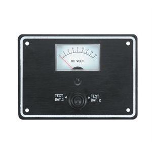 dc voltmeter dual batt.