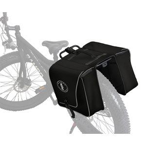 black accessory bag