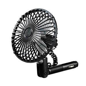 """ventilateur oscillant 5""""  noir pour prise 12v"""