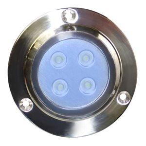 lumière submersible 4 del bleue