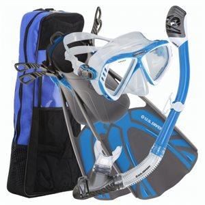 snorkeling kit large