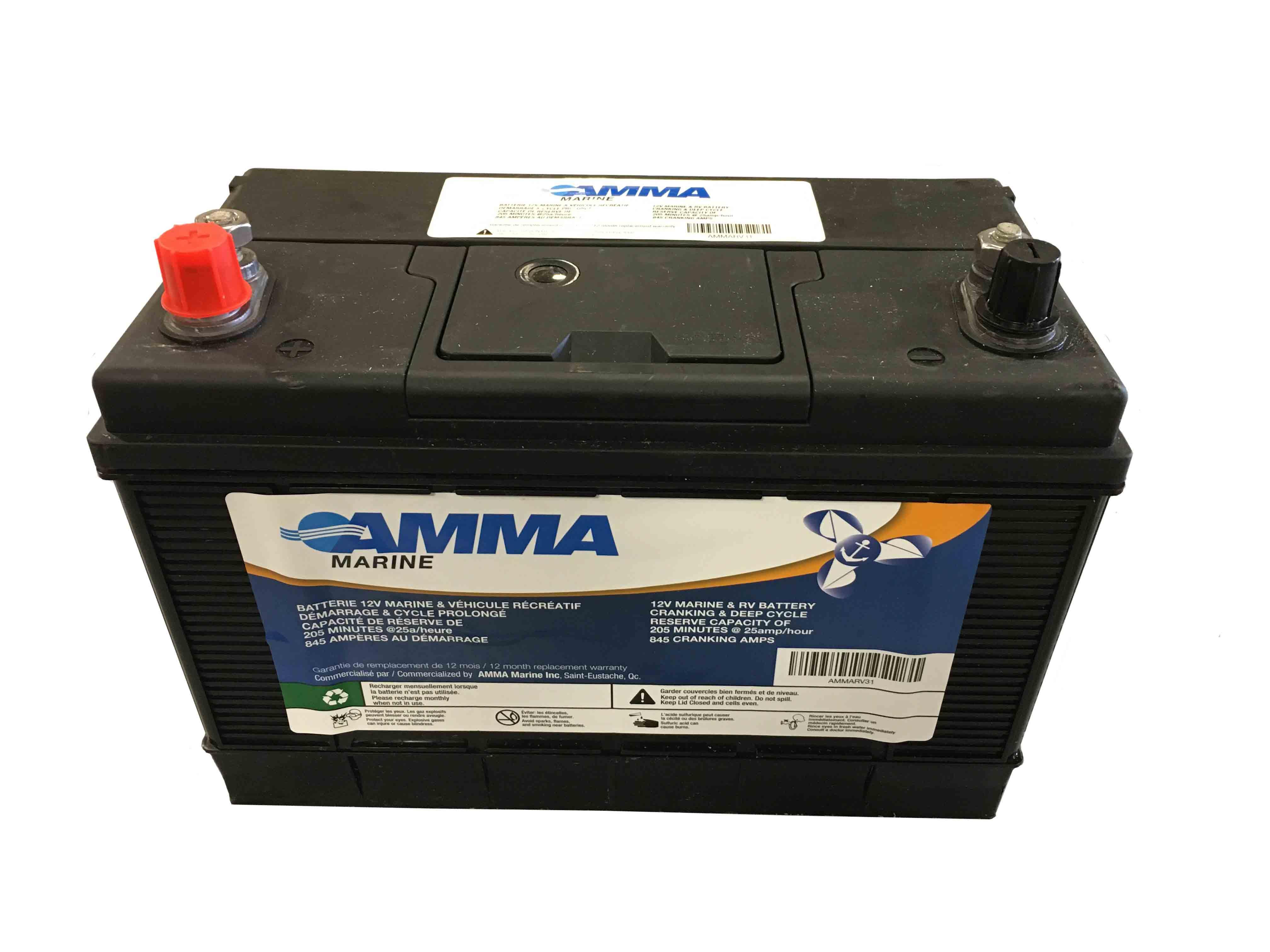 Batterie à décharge profonde série 31, 845A (SANS CHARGE DE CORE)