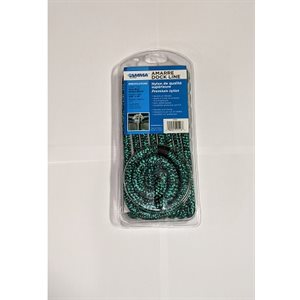 Double braided 3 / 8*15 green / black