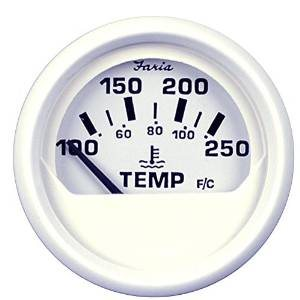dress white water temperature gauge