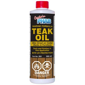 teak oil w / uv protection / l
