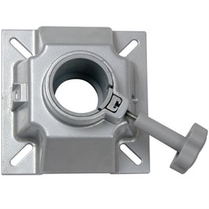 seat swivel fits post 2 3 / 8""