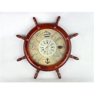Horloge - Gouvernail