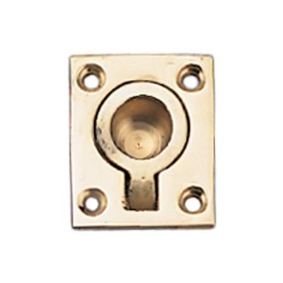 """pull ring brass 1 7 / 8"""""""