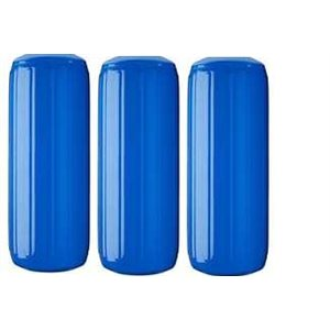 ribbed center fender blue. 3-pk, 6'' x 15''